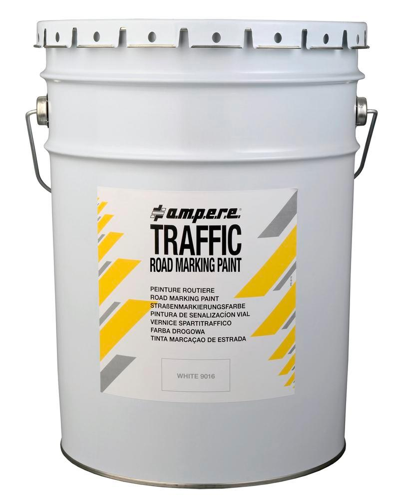 Markeringsfarve, 1 spand, Traffic Paint, sort, 25 kg