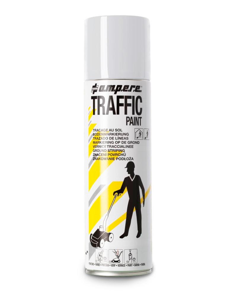 Markeringsfarve TRAFFIC, hvid,12 x 500 ml netto