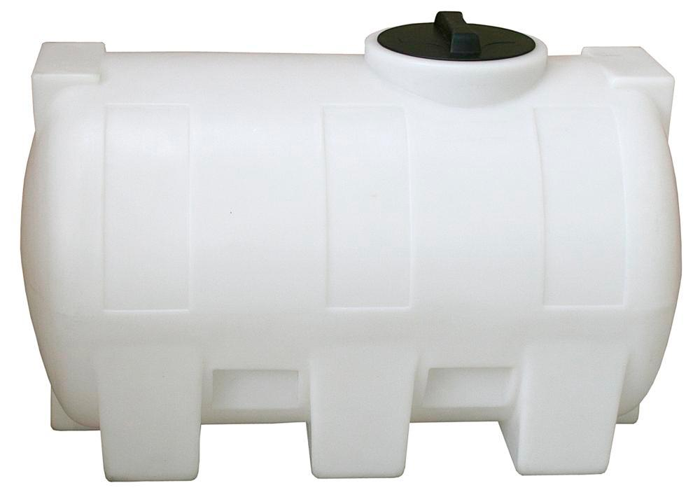 Tank af polyethylen (PE), 300 liters volumen, transparent