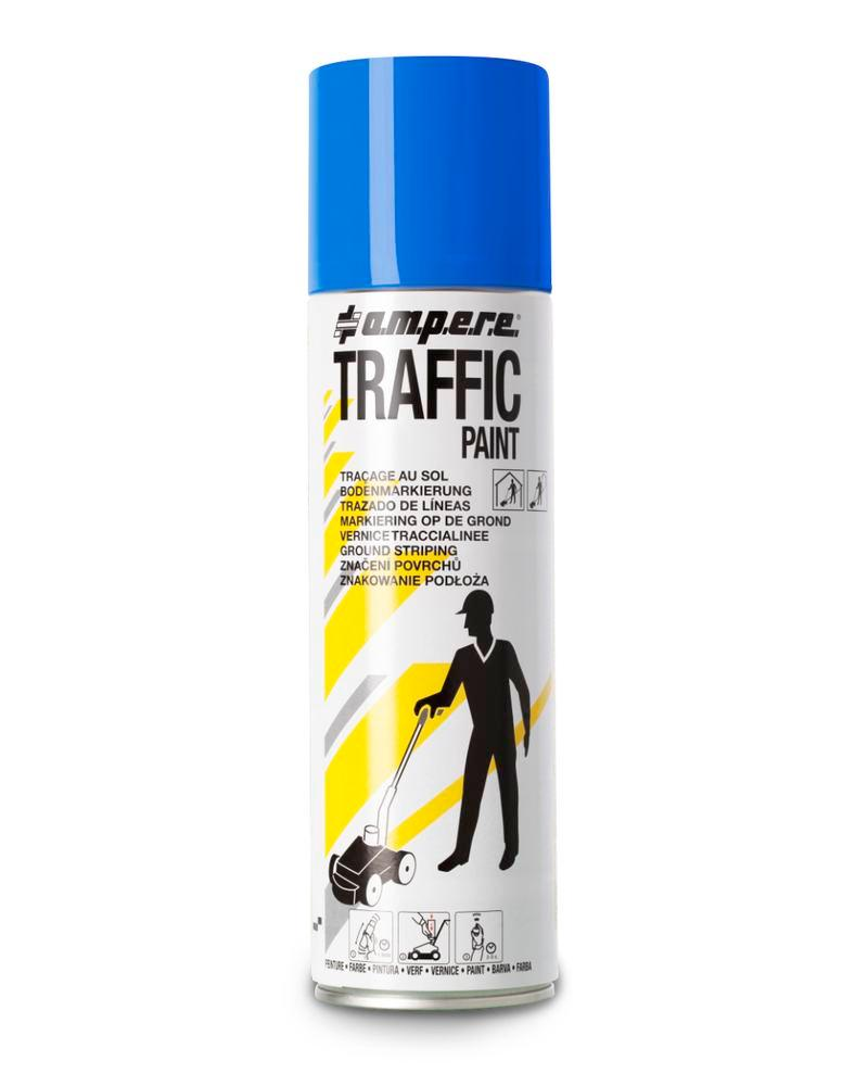 Markeringsfarve TRAFFIC, blå, 12 x 500 ml