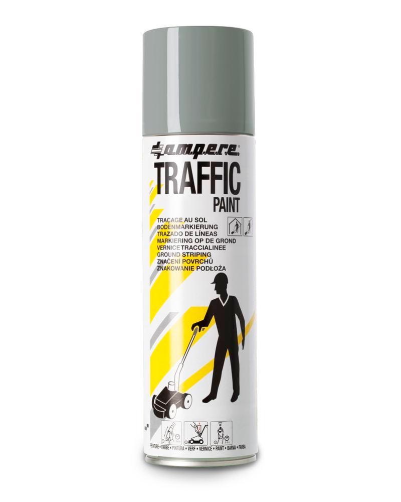 Markeringsfarve TRAFFIC, grå, 12 x 500 ml netto
