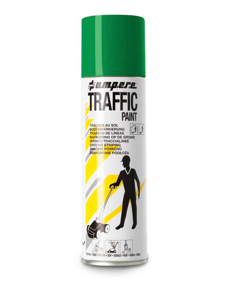 Markeringsfarve TRAFFIC, grøn,12 x 500 ml netto