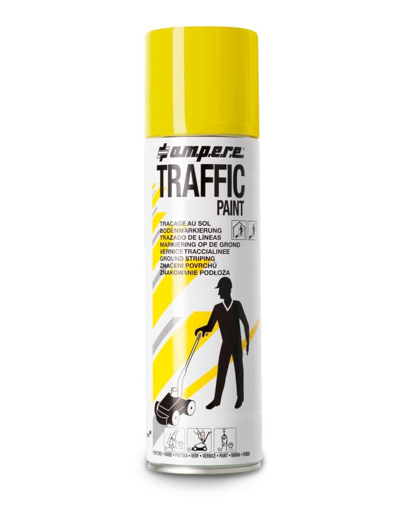 Markeringsfarve TRAFFIC, gul, 12 x 500 ml netto