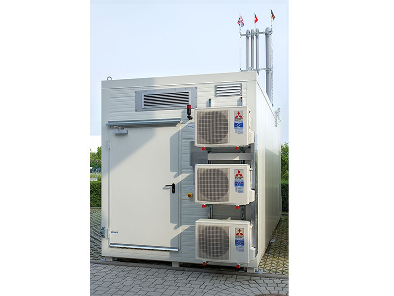 Procesgasser i airconditionerede container